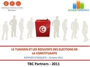 le tunisien et les resultats de la constituante
