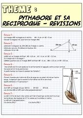 pythagore et sa reciproque revisions