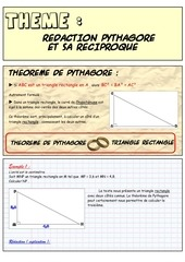 Fichier PDF redaction pyhtagore et sa reciproque