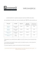 Fichier PDF tarif signaletique banderole