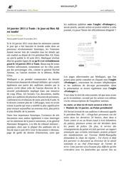 Fichier PDF 14 janvier 2011 a tunis le jour ou ben ali est tombe