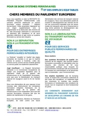 2011 11 10 tract aux membres du parlement europeen pour le 14 11 2011 fr en