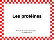 les proteines pp 2011