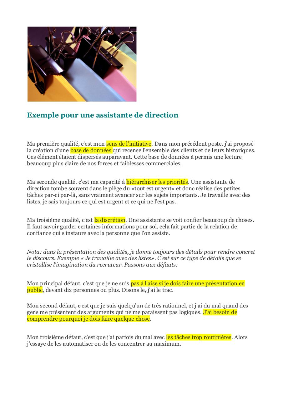 qualites et defauts  entretien d'embauche question piege.pdf - page 4/6