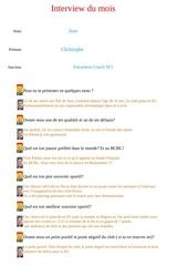 interview christophe huet