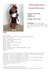 Fichier PDF tenue espagnole
