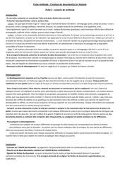 fiche methode 2 analyse de documents histoire 1