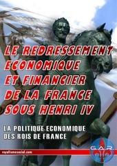 le redressement economique et financier de la france sous henri iv