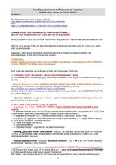 les 6 premiers mois du protocole de desintox protocole 1