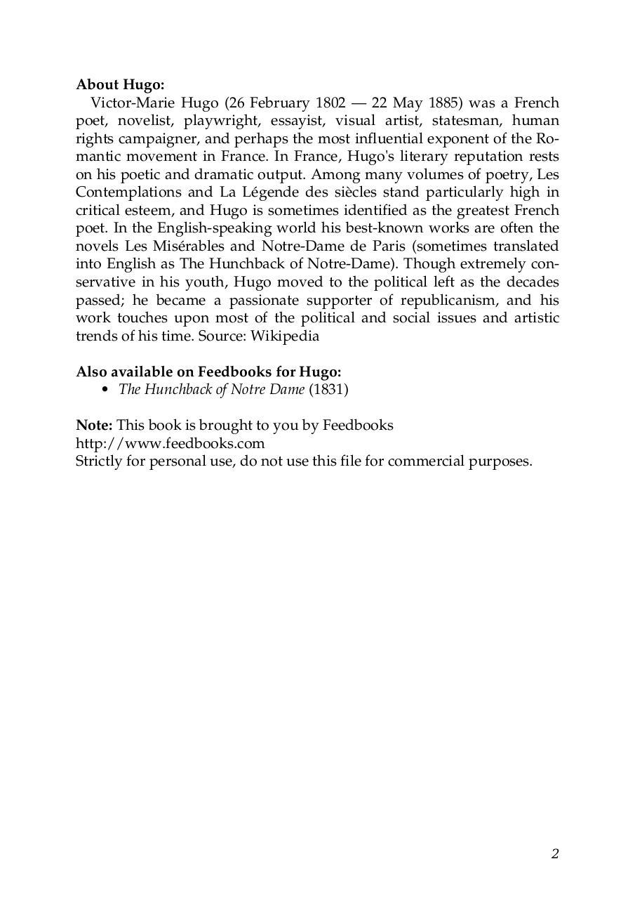 victor hugo los miserables pdf