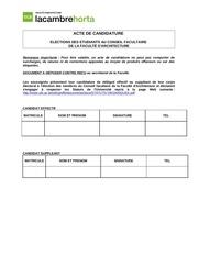Fichier PDF acte de candidature 1