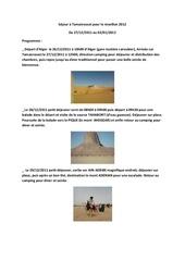 sejour a tamanrasset pour le reveillon 2012 pdf