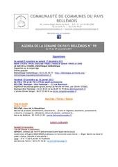 Fichier PDF agenda de la semaine en pays bellemois n 99