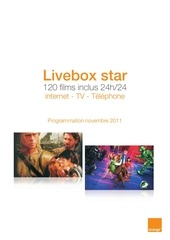 catalogue films livebox star novembre 2011