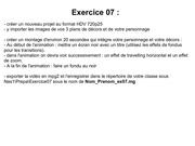 exercice 07