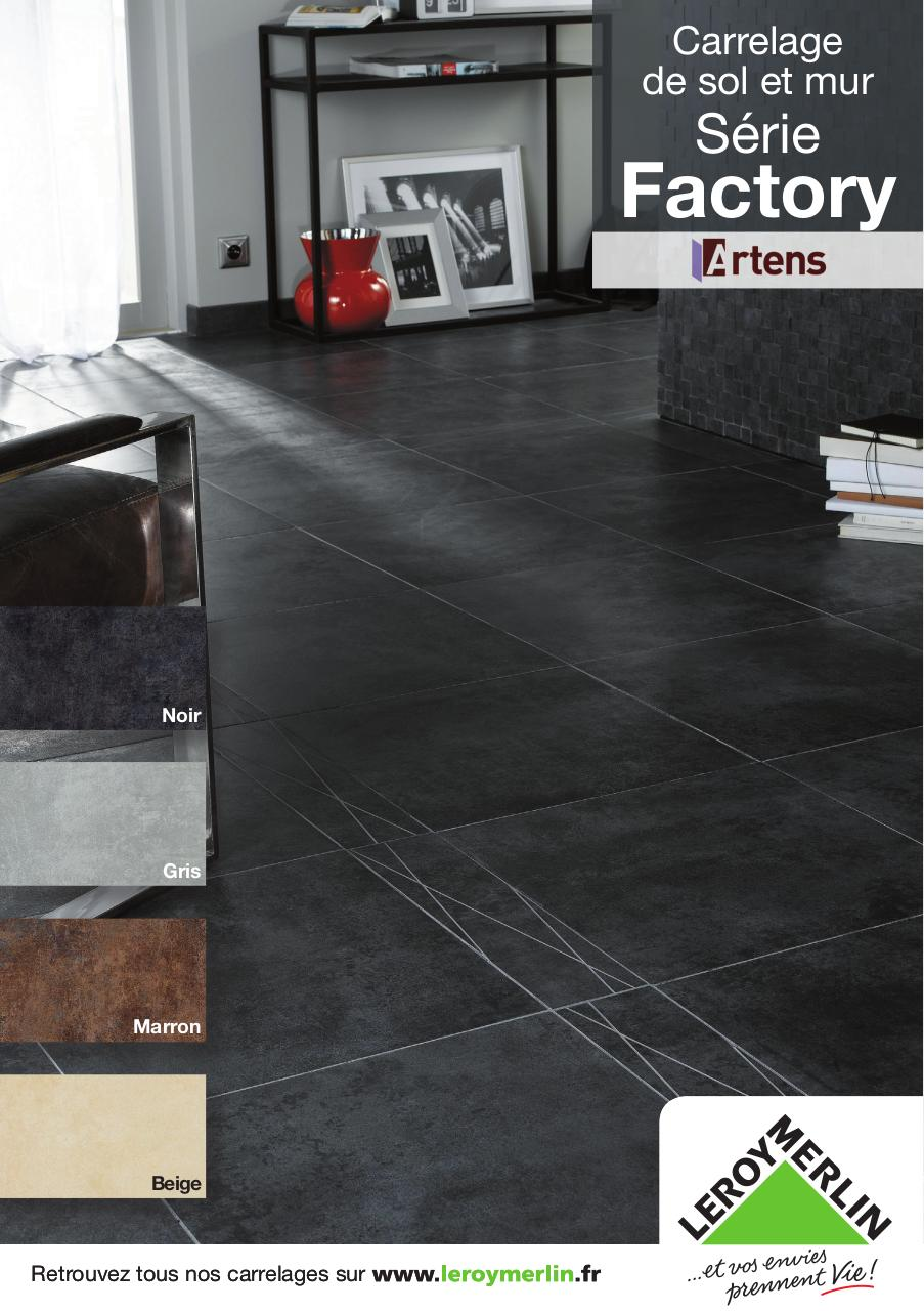 carrelage artens s rie factory fichier pdf. Black Bedroom Furniture Sets. Home Design Ideas