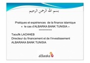 presentation mr taoufik lachheb al baraka bank