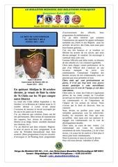 le bulletin du gouverneur novembre 2011