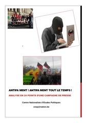 antifa ment antifa ment tout le temps