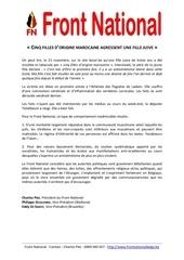 cinq filles d origine marocaine agressent une fille juive