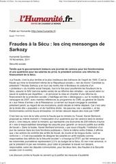 huma q fraudes a la secu