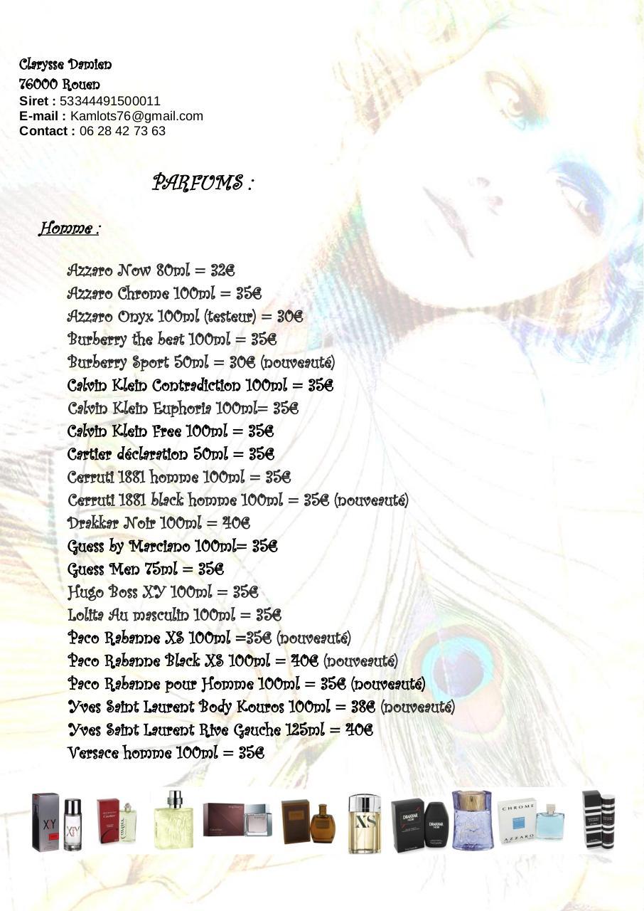 Liste Parfum HommePar Nov Damien Pdf Clarysse Fichier y8nwOmN0vP
