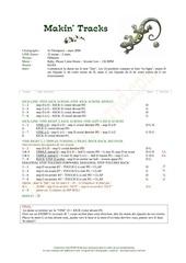 Fichier PDF makin tracks