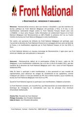 Fichier PDF resistances be mensonge et amalgame