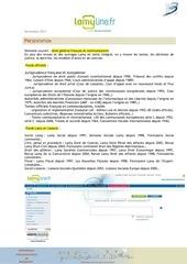 Fichier PDF lamyline