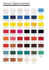 nuancier pigments