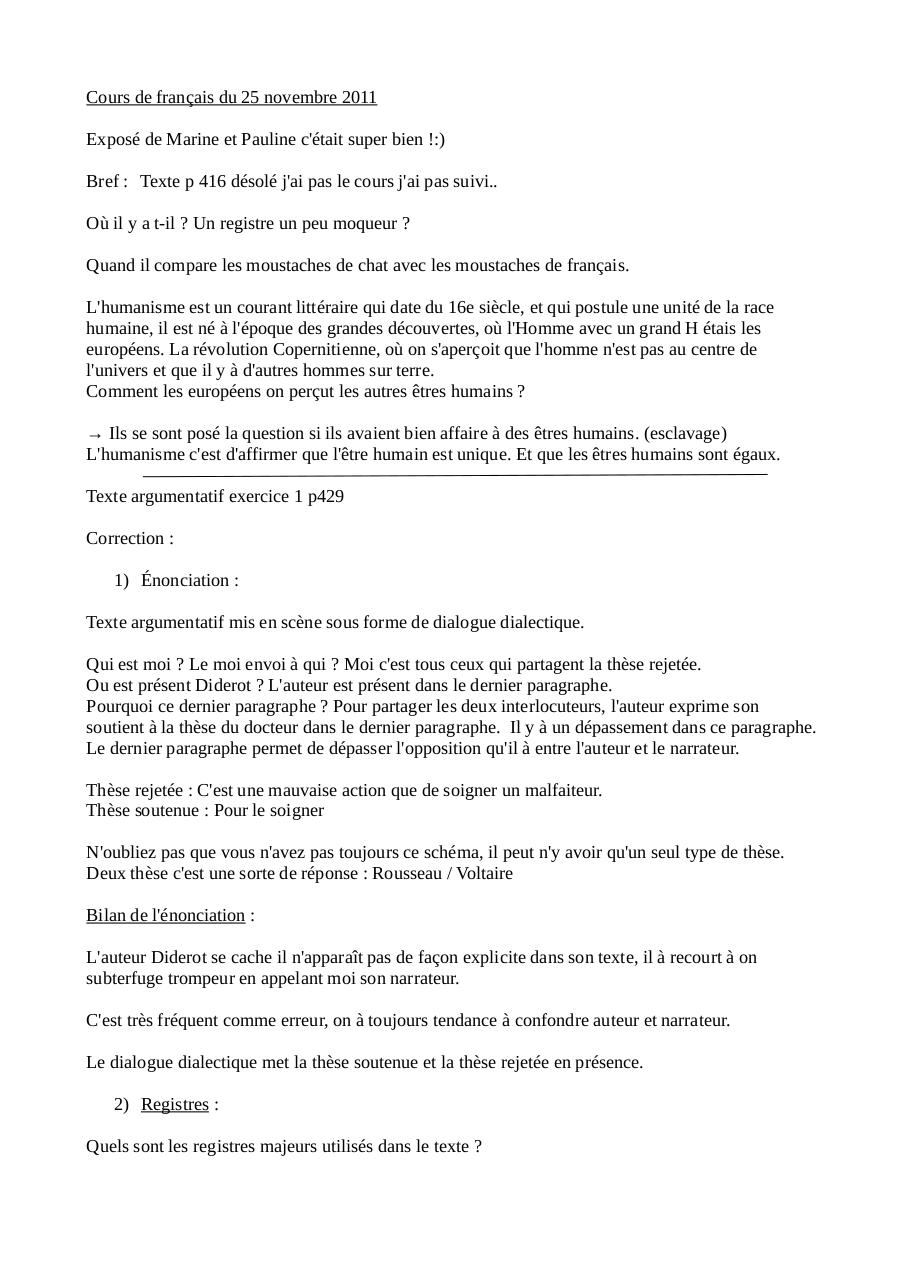 25.11.11 Étude texte argumentatif livre par Hugo - Fichier PDF