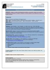 Fichier PDF cv fthibierge