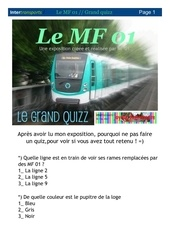 exposition le mf 01 grand quizzzzzzz
