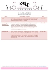 Fichier PDF relaxation