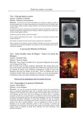 Fichier PDF liste livres