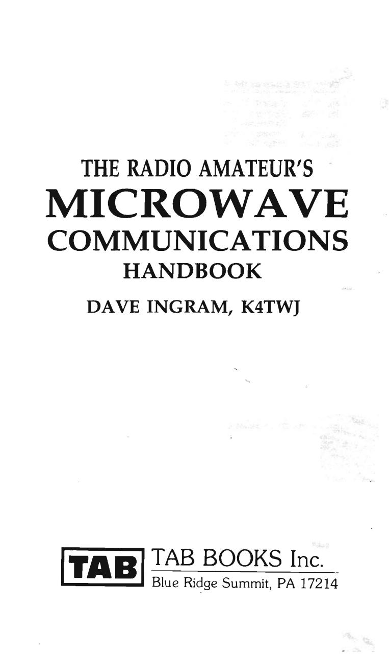 The Radio Amateurs Microwave Communications Handbook.pdf - page 2/192