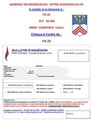 bulletin adhesion 28
