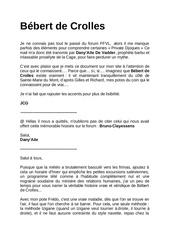 Fichier PDF bebert de crolles