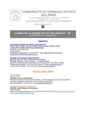 Fichier PDF agenda de la semaine en pays bellemois n 101