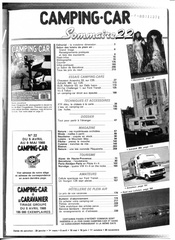 article camping car c35 7 places