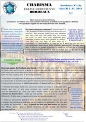 newsletter n 1 culte