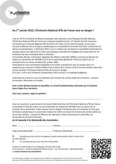 petition orchestre national d ele de france