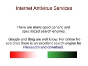antivirusservices