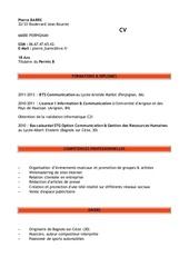 Fichier PDF cv pierrebarre