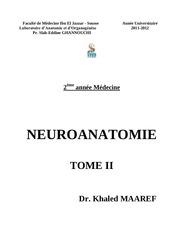 neuroanatomie tome ii