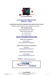 tmi tarifs 12 2012