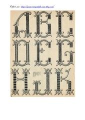 alphabet jours pour drap