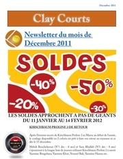 newsletter decembre 2011