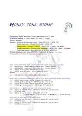 honky tonk stomp