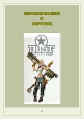 compilation des armes et des competences pour dust tactics 1